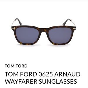 TOM FORD 0625 ARNAUD WAYFARER SUNGLASSES💙